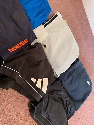 6 x GRADE A/B BRANDED VINTAGE TRACKSUIT BOTTOMS/SHORTS | MIXED JOB LOT