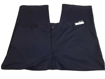Mens Ultra Workrite FR 2112 Fire Resistant Midnight Navy Work Pants Size 54x30