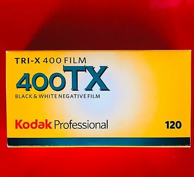 Kodak TRI-X 400 TX 120 Pack of 5 B&W FILM