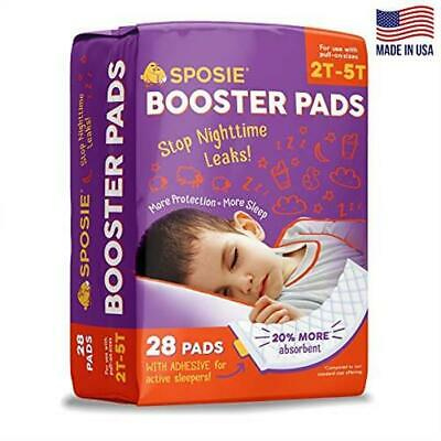 Sposie Adhesive Overnight Diaper Booster Pads for Regular Pull On Diapers