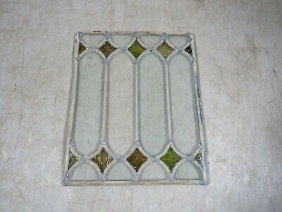 Vintage/Antique Leaded Stained Glass Small Project Decorative Window Section