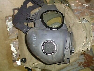 us military m17a2 gas mask unissued w/ bag