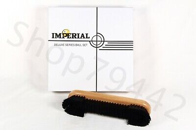IMPERIAL DELUXE Series Billiard Ball Set Complete Box With Bonus Brush Gift Lot