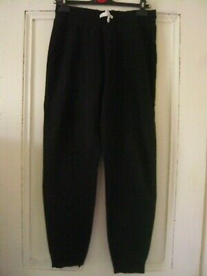 George - Girls Jogging Bottoms - Size 10 - Black - Worn  Ivgc
