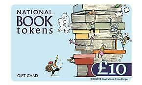 £10 National Book Tokens Gift Card Unused Voucher Waterstones WHSmith