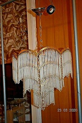 OLD  FRENCH CRYSTAL ICICLES CHANDELIER  28 ins DROP MASSIVE c1950