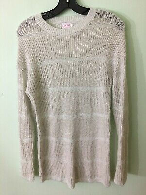 Isabel Maternity by Ingrid & Isabel Women's Maternity Shine Pullover Sweater XS
