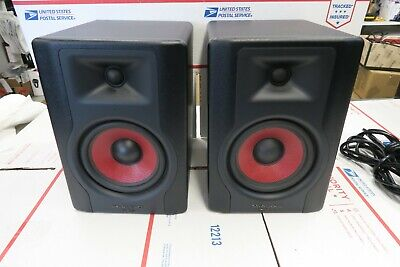 "M Audio BX5 D3 Graphite Powered 5"" Studio Monitor Speakers (Pair) Nice"