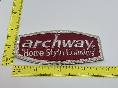 Vintage Archway Home Style Cookies Employee Advertising Uniform Patch