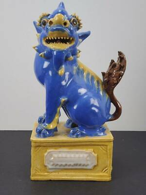 Antique Chinese Pottery Foo Dog / Lion, C. 1900