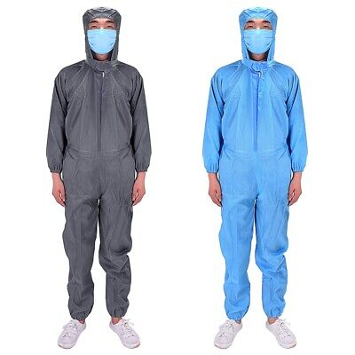 Unisex Coveralls Isolation Gown Protection Overall Suit Doctor Nurse Uniform