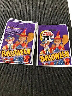 Collectable Halloween Show Bags Eight In Total