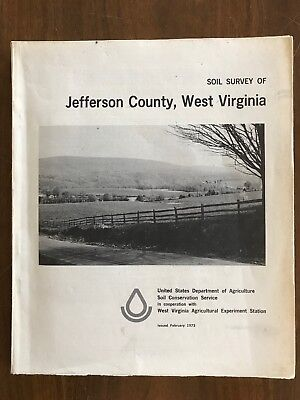 Soil Survey of Jefferson County, West Virginia Vintage 1973 with Maps
