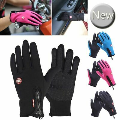 Women Men Winter Warm Gloves Windproof Thermal Touch Screen Mittens Ski Sports