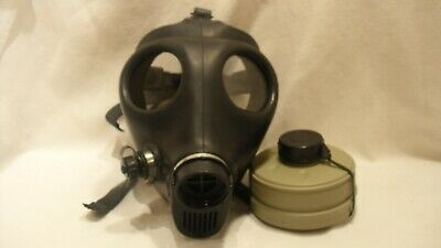 Unused Gas Mask Civil Defense Israeli Made Surplus with NEW Filter Canister NOS