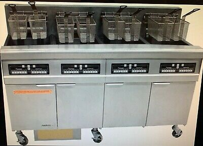 Frymaster Electric 4 Pan Deep Fryer With Oil Filtration