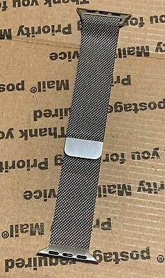Genuine / Original Apple Watch 38mm Milanese Loop Stainless Steel Band *Used*