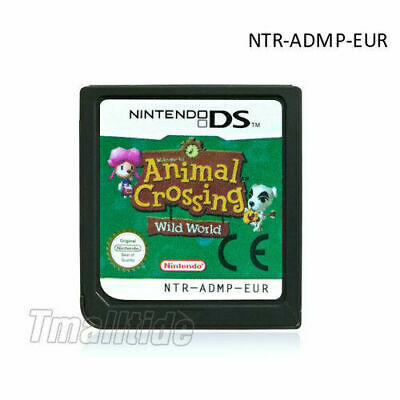Animal Crossing: Wild World  (Nintendo DS,2005 Game Card ) für DS 3DS NDSi NDS