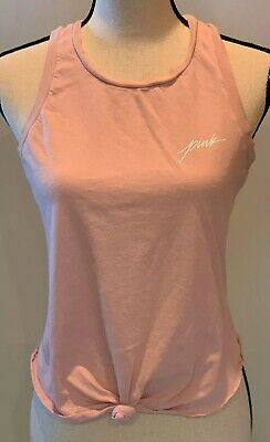 Set of 2 Victorias Secret VS PINK Size XS Sleep Tank Tops Shirts Sleeveless