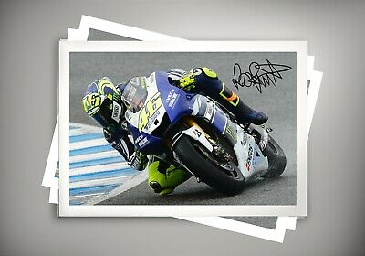 Valentino Rossi Canvas print Moto Gp Extra Large Canvas Print Poster 60-35Inch