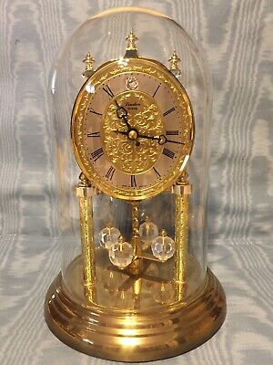 Vintage German  Quartz  Linden Anniversary Clock         Germany