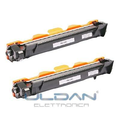 2 Toner Per Brother Tn1050 Hl1110 Mfc1810 Mfc1910 Dcp1510 1512 Dcp1515 Dcp1610