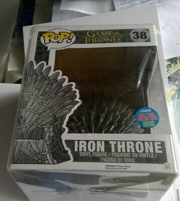 Funko Pop! Game Of Thrones #38 Iron Throne 6 Inch Nycc Limited Edition