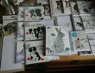 Animal Stationary, Wholesale Joblot Greeting Cards