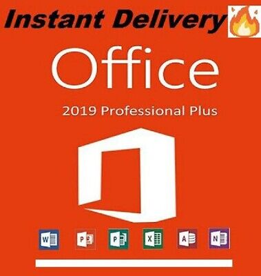 Microsoft Office 2019 Professional Plus License Key INSTANT DELIVERY