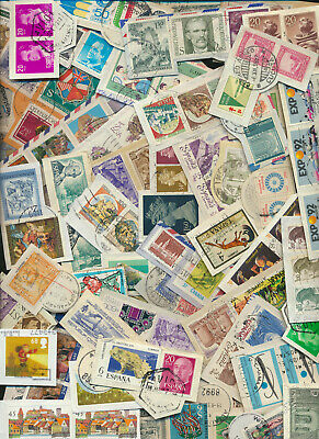 Foreign On Paper Stamp Mixture 1 oz From Large Discovered Hoard Great For Soaker