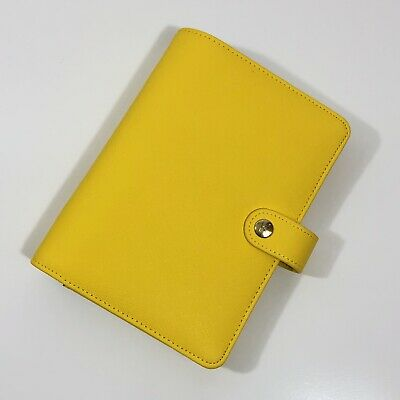 Kikki K Planner Personal Size Yellow New Without Inserts Small