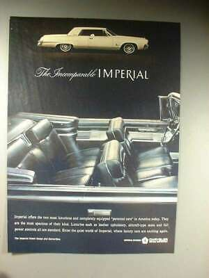 1964 Chrysler Imperial Crown Coupe & Convertible Ad