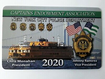 "1 2020  """"Authentic""  Captains Cea  Pba Card """" Not A Lba Sba Dea Pba  Card"""""
