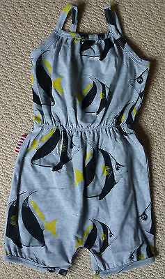 NWT Sookibaby Girls Bannerfish Summer Playsuit Jumpsuit Size 2