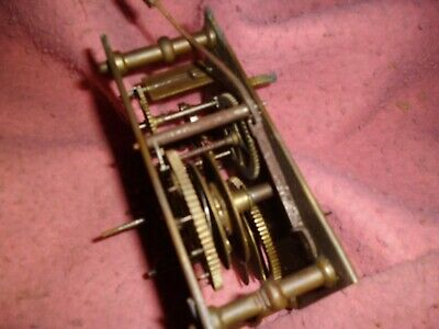 Grandfather Clock Parts Internal Brass Cogs Specialist Repairer Collectors