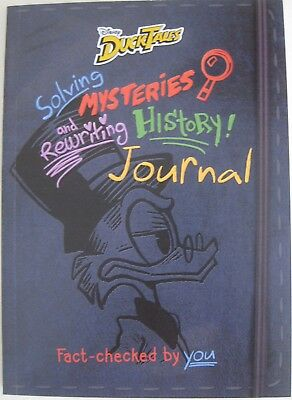 Ducktales Disney Channel Solving Mysteries And Rewriting History! Promo Journal