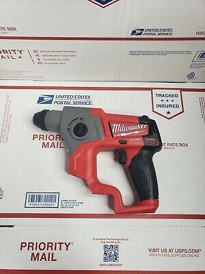 "New Milwaukee Fuel 2416-20 M12 12V 12 Volt Cordless 5/8"" SDS-Plus Rotary Hammer"