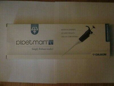 Gilson Pipetman micropipette fixed volume set of 4