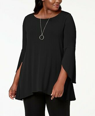 Alfani Plus Size Tulip-Sleeve Swing Top $69.50 Size 1X # 5A 1135 NEW