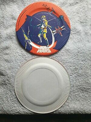Vintage Star Wars Party Plates