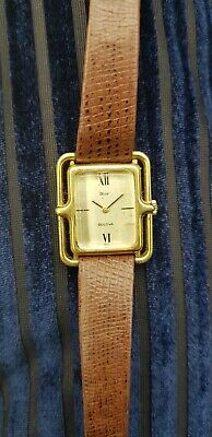 Extremely Rare Dior Bulova Vintage Watch 1970's ( Need Repair)