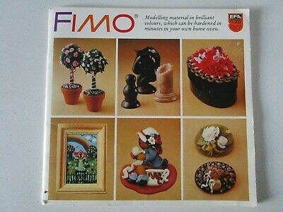 Fimo Modelling Material Instruction Book From 1982
