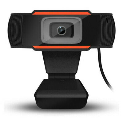AU Rotatable USB 2.0 HD Webcam PC Laptop Camera Video Recording with Microphone