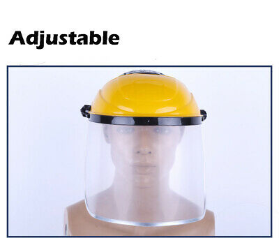 1x Anti-Spray Protective Helmet Cover Protection Clear Visor Industrial Grinding