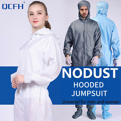 Reusable Coveralls Clothing Protective Safety Overalls Suit Full Protection