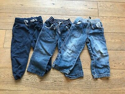 Boys Girls Bundle Joggers Jeans Trousers 18-24 Months 2-3 Years Next & More