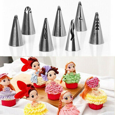 Tips Cake Decorating Stainless Steel Russian Icing Piping Nozzles Baking Mold