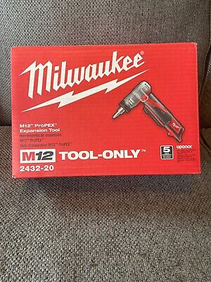 NEW - Milwaukee 2432-20 M12™ ProPEX® Expansion Tool (Body Only)