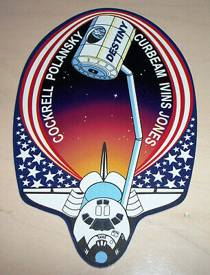 """SHUTTLE ATLANTIS OV-104 STS-125  CHALLENGE  COIN 1 1//2/"""" /& PATCH 3 1//2/"""" X 4 1//2/"""""""