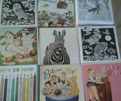 21 Mix Cards, Wholesale Joblot Greeting Cards